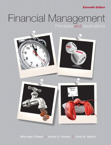 Financial Management Principles and Applications 11th 2011 (Revised) edition cover