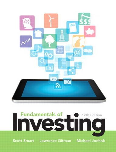 Fundamentals of Investing  12th 2014 edition cover