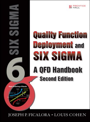 Quality Function Deployment and Six Sigma A QFD Handbook 2nd 2010 9780135138359 Front Cover