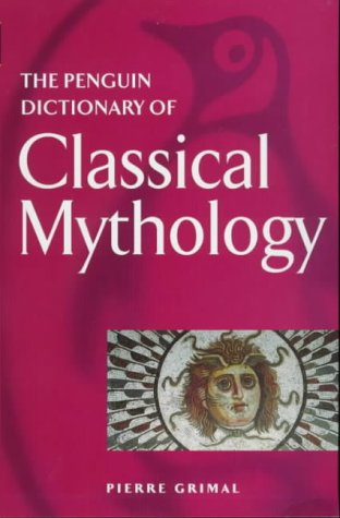 Penguin Dictionary of Classical Mythology  2nd 1991 edition cover