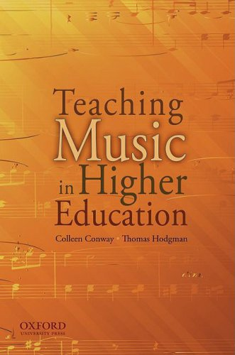 Teaching Music in Higher Education   2008 edition cover