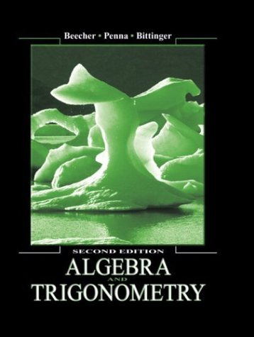 Algebra and Trigonometry  2nd 2005 (Revised) 9780321159359 Front Cover