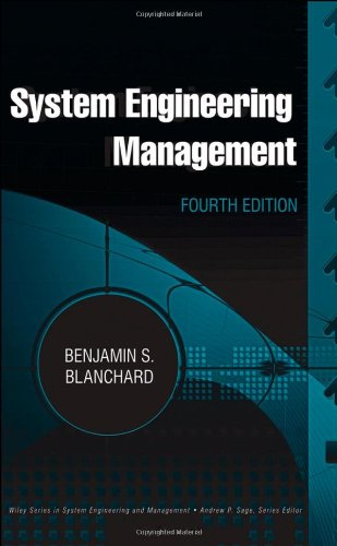 System Engineering Management  4th 2009 edition cover