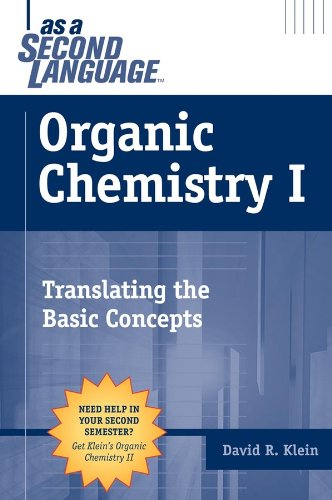 Organic Chemistry I as a Second Language Translating the Basic Concepts  2004 edition cover
