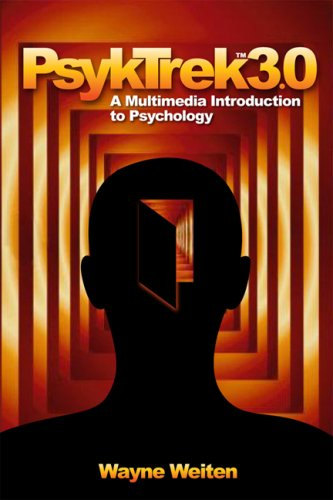 Psyktrek 3.1 A Multimedia Introduction to Psychology 3rd 2008 (Revised) edition cover