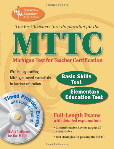 MTTC Michigan Test for Teacher Certification  N/A 9780738601359 Front Cover