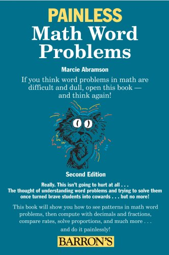Painless Math Word Problems  2nd 2010 (Revised) edition cover