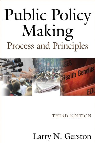 Public Policy Making Process and Principles 3rd 2011 (Revised) edition cover