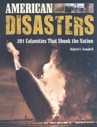 American Disasters   2008 9780816077359 Front Cover