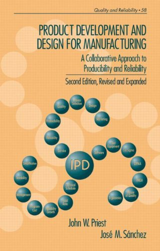 Product Development and Design for Manufacturing  2nd 2001 (Revised) edition cover