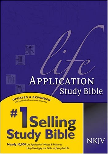 Life Application Study Bible   2000 edition cover