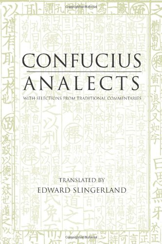 Analects With Selections from Traditional Commentaries  2003 edition cover