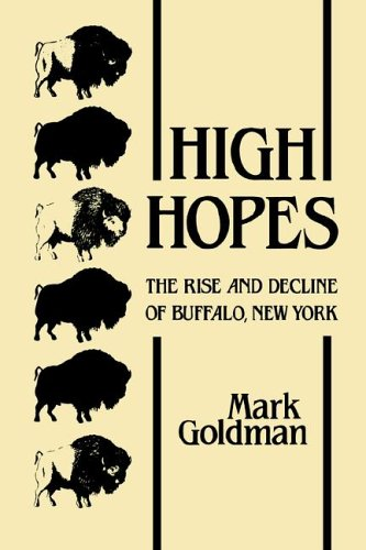 High Hopes The Rise and Decline of Buffalo, New York N/A 9780873957359 Front Cover