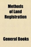 Methods of Land Registration  2010 edition cover