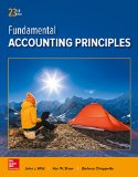 Fundamental Accounting Principles:   2016 9781259536359 Front Cover
