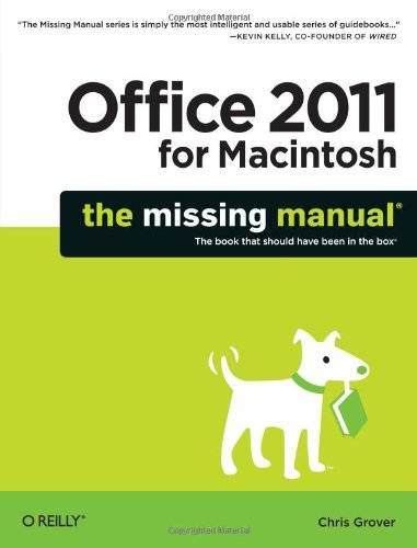 Office 2011 for Mac   2010 edition cover