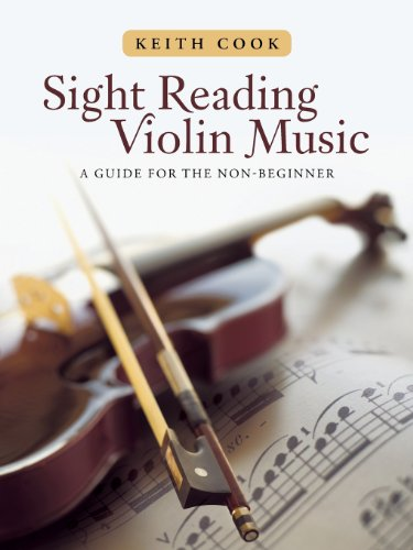 Sight Reading Violin Music: A Guide for the Non-beginner  2013 9781491802359 Front Cover