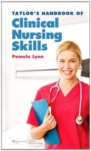 Taylor's Handbook of Clinical Nursing Skills   2010 edition cover
