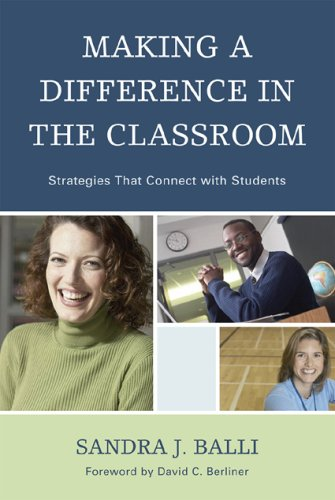 Making a Difference in the Classroom Strategies That Connects with Students  2009 9781607090359 Front Cover