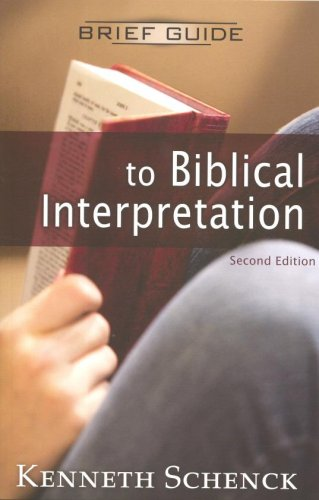 Brief Guide to Biblical Interpretation  2nd 2009 edition cover