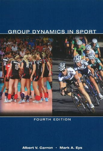 Group Dynamics in Sport  4th 2012 edition cover