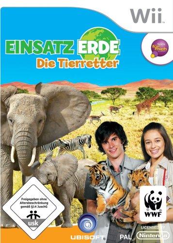 Einsatz Erde: Die Tierretter Nintendo Wii artwork