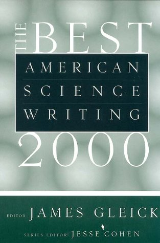 Best American Science Writing 2000   2001 9780060957360 Front Cover