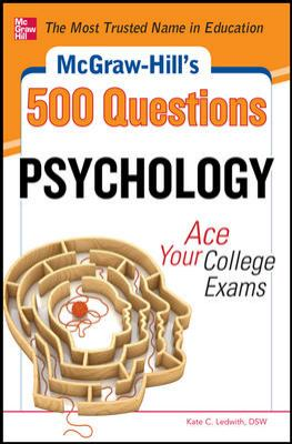 500 Psychology Questions Ace Your College Exams  2012 edition cover