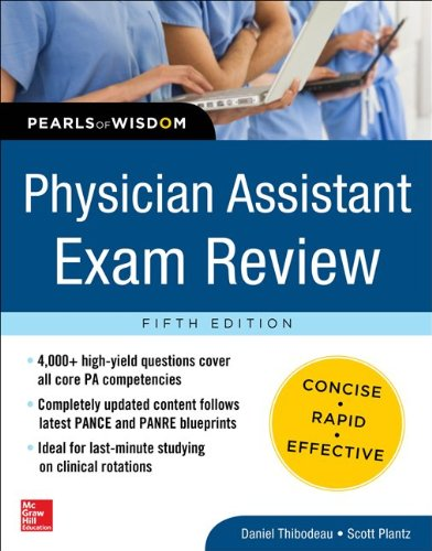 Physician Assistant Exam Review, Pearls of Wisdom  5th 2014 edition cover