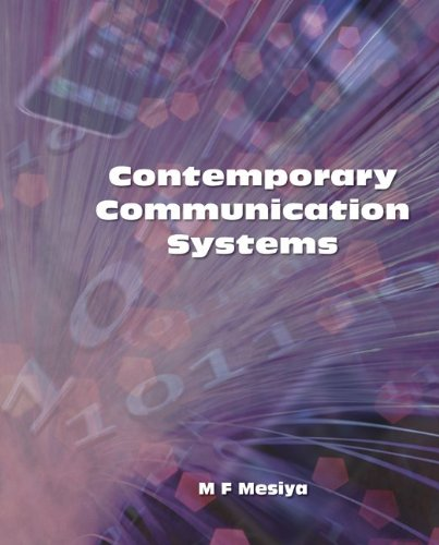Contemporary Communication Systems   2013 9780073380360 Front Cover