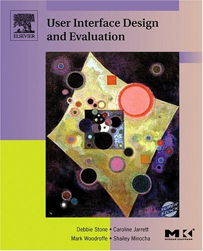 User Interface Design and Evaluation   2005 edition cover