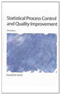 Statistical Process Control and Quality Improvement  5th 2004 (Revised) edition cover