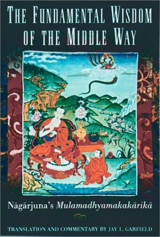 Fundamental Wisdom of the Middle Way Nagarjuna's Mulamadhyamakakrika  1995 9780195093360 Front Cover