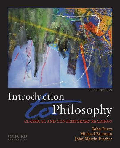 Introduction to Philosophy Classical and Contemporary Readings 5th 2011 edition cover