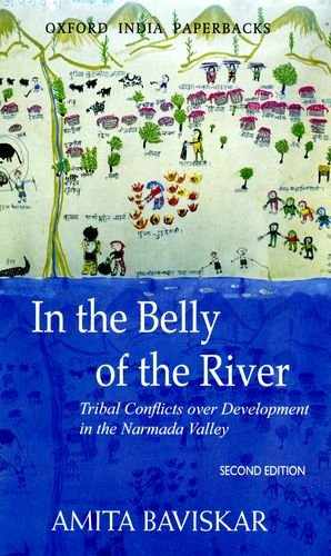 In the Belly of the River Tribal Conflicts over Development in the Narmada Valley 2nd 2004 (Revised) 9780195671360 Front Cover