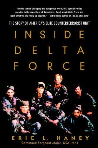 Inside Delta Force The Story of America's Elite Counterterrorist Unit  2005 edition cover