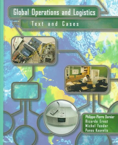 Global Operations and Logistics Text and Cases  1998 edition cover