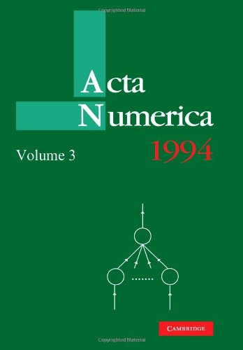 Acta Numerica 1994: Volume 3   2010 9780521157360 Front Cover