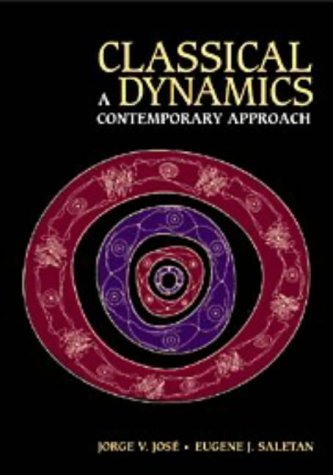 Classical Dynamics A Contemporary Approach  1998 edition cover