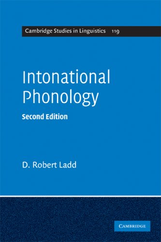 Intonational Phonology  2nd 2008 (Revised) edition cover