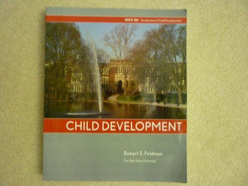 Child Development, Ohio State, HDFS 361 1st 9780536458360 Front Cover