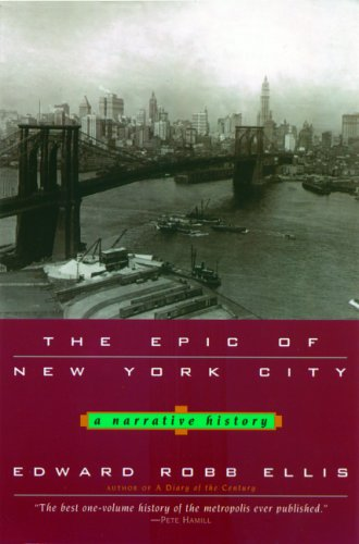 Epic of New York City A Narrative History N/A edition cover