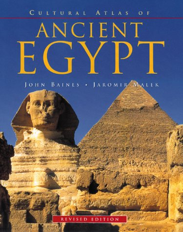 Cultural Atlas of Ancient Egypt  2000 (Revised) edition cover