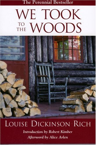 We Took to the Woods  2nd (Revised) edition cover