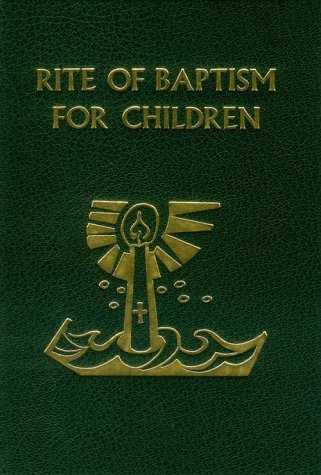 Rite of Baptism for Children 1st edition cover