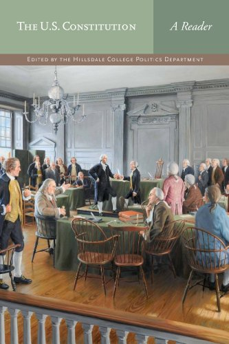 U. S. Constitution A Reader N/A edition cover