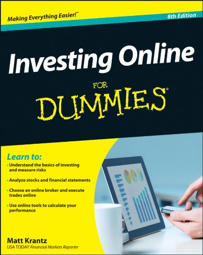 Investing Online for Dummies  8th 2013 edition cover