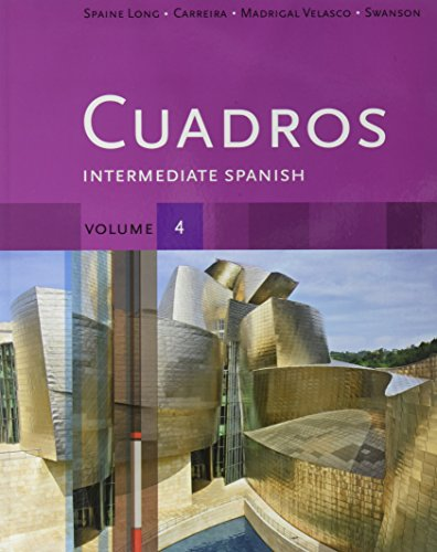 CUADROS:INTERMED.SPANISH,VOL.4 N/A 9781133427360 Front Cover