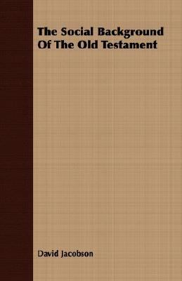 Social Background of the Old Testament  N/A 9781406770360 Front Cover