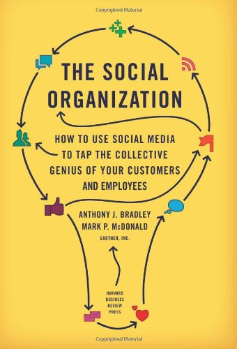 Social Organization How to Use Social Media to Tap the Collective Genius of Your Customers and Employees  2011 edition cover